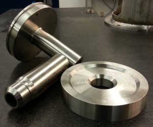 pre-machined, assembled, welded, and finished